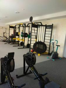 The fitness center and/or fitness facilities at VitaPark Solnechniy Provans