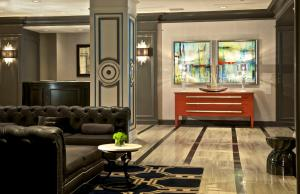 The lobby or reception area at The Melrose Georgetown Hotel