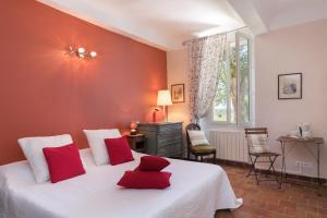 Un ou plusieurs lits dans un hébergement de l'établissement Chateau Nestuby