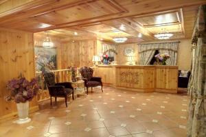 The lobby or reception area at Hotel Muravskiy Trakt