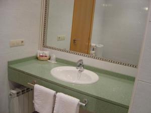 A bathroom at Hotel Alisa