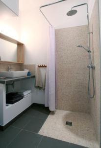 Koupelna v ubytování La Cour du 5ème - Chambre d'hôtes