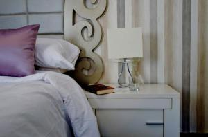 Cama o camas de una habitación en Apartamento Acera del Darro 26
