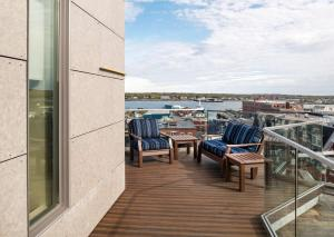 A balcony or terrace at Hyatt Place Portland-Old Port