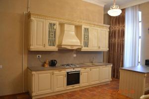 A cozinha ou cozinha compacta de Apartment Abdulkerim Ali-Zadeh 6