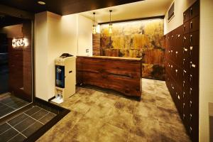 The lobby or reception area at Guest House Wagokoro