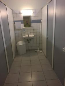 A bathroom at Fjordlyst Hotel