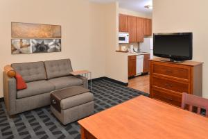 A television and/or entertainment center at TownePlace Suites Sacramento Cal Expo