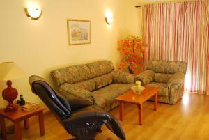 Гостиная зона в Hotel Los Templarios