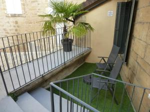 A balcony or terrace at Le Loft Exceptionnel