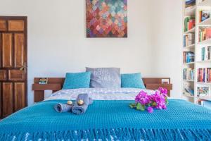 Cama o camas de una habitación en Atalaya Alta