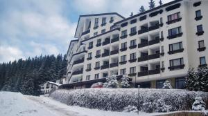 Elit Pamporovo Apartments during the winter
