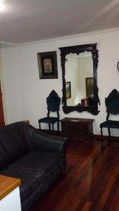 A seating area at Hotel Los Perales