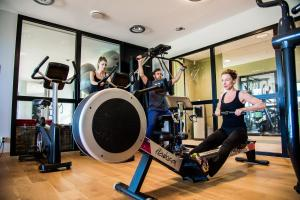 The fitness center and/or fitness facilities at Domaine la Charpinière, The Originals Collection