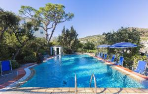 The swimming pool at or near Hotel Vittoria