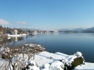 Seehaus Jamek im Winter