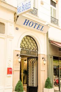 Фасад или вход в Hotel Paris Bruxelles
