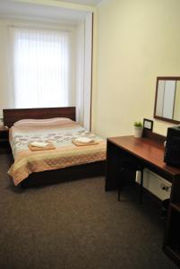Кровать или кровати в номере Brave