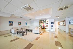 The lobby or reception area at Hotel Marko Polo