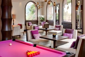 A pool table at Tiara Miramar Beach Hotel & Spa