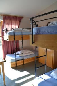 A bunk bed or bunk beds in a room at Errigal Youth Hostel