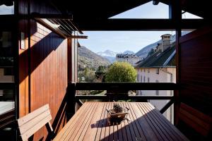 Balcon ou terrasse dans l'établissement Résidence Cybèle