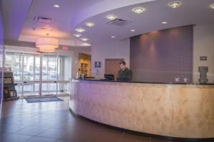 The lobby or reception area at Residence Inn Pittsburgh North Shore