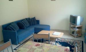 A seating area at Dominika apartman