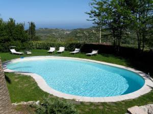 Der Swimmingpool an oder in der Nähe von Hotel Villa Gli Asfodeli