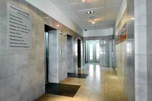 Ванная комната в Гостиница Скайпорт