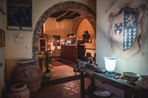 Hall o reception di Le Vecchie Cantine