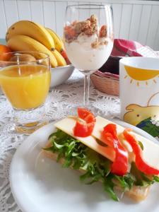 Ateriointia bed & breakfastissa tai sen lähistöllä