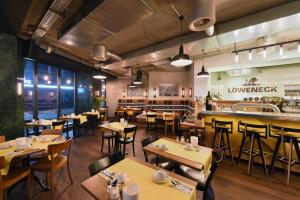 A restaurant or other place to eat at Hotel City Zürich Design & Lifestyle