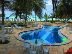 The swimming pool at or near Paraiso do Sul