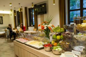 Restauracja lub miejsce do jedzenia w obiekcie Garni hotel Castle Bridge