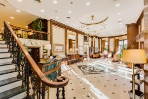 El vestíbulo o zona de recepción de Gordion Hotel - Special Class