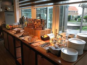 Ein Restaurant oder anderes Speiselokal in der Unterkunft Vlierijck