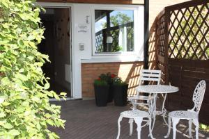 Патио или другая зона на открытом воздухе в Hotell Angöringen