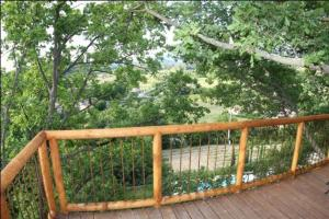 Balcon ou terrasse dans l'établissement Les Cabanes en Provence