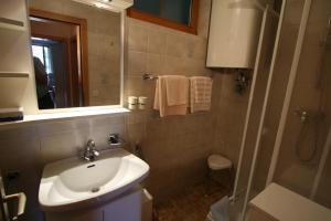 Ein Badezimmer in der Unterkunft Pension Seevilla Annelies