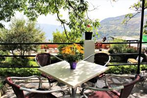A balcony or terrace at Finca Los Llanos