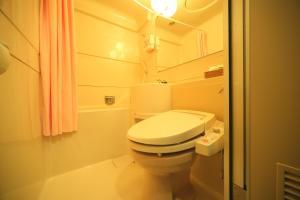 A bathroom at Hotel Park Side Hiroshima Peace Park