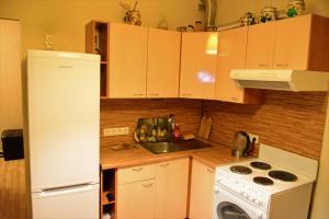 Кухня или мини-кухня в BestFlat24 Rozhdestvenskaya 7