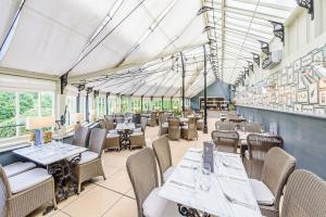 A restaurant or other place to eat at Owston Hall Hotel