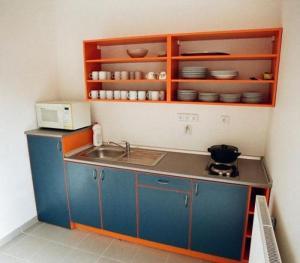 Küche/Küchenzeile in der Unterkunft Motel Dacice