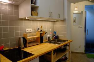 Cuisine ou kitchenette dans l'établissement Apartment at the Golden Ram