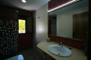 A bathroom at Apartamentos mirasierra plaza