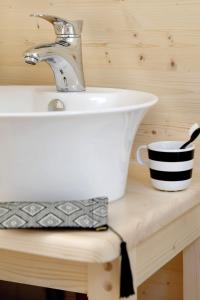 Een badkamer bij Buitenplaats Beekhuizen