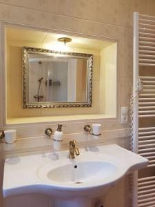 Koupelna v ubytování Apartment MarienBad