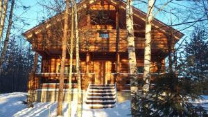 Загородный дом «Линтула» зимой